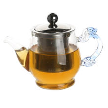 Glass Pitcher Clear Borosilicate Airtight Lid Glass Teapot