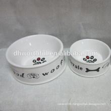 2016 new ceramic pet bowls