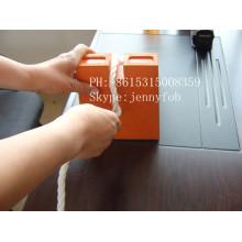 Calçado de roda de borracha, rolha de borracha de borracha laranja