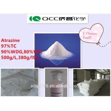 Herbicide de lutte contre les mauvaises herbes Atrazine 97% TC 80% WP 50% SC 90% WDG CAS 1912-24-9 --- Lmj