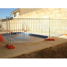 Remove Temporary Pool Fence