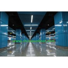 Paredes de la estación de metro / Espacio de pared de esmalte / Panel de esmalte / Hoja de acero esmaltada
