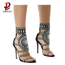 new design sequins shoe women UK sandals