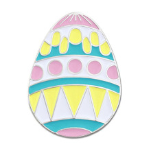 Easter Egg Holiday Spring Spring Pastel Lapel Pin