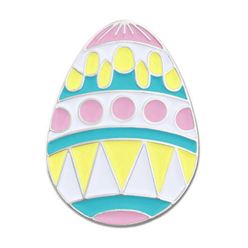 Easter Egg Holiday Spring Pastel Iron Lapel Pins