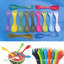 3in 1plastic Cutlery with Spoon Fork and Knife