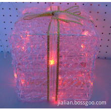 20l red led acrylic gift box