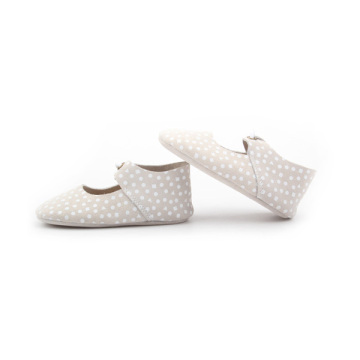 New Styles Dots Leather Soft Oxford Shoes Baby