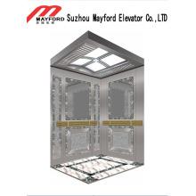 Mirro Etched Passenger Elevator para centro comercial