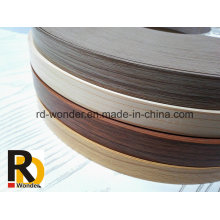 Furniture Woodgrain Decorated PVC Edge Banding