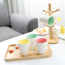 Mug Set with Stand Six Piece