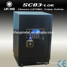 Bureau coffre-fort électronique avec écran rétro-éclairage