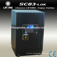 Electronic decorative safety box for valuable