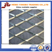 Ss304 Expanded Metal Mesh / Flatten Expanded Sheet