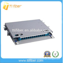 China factory supply 24 port fiber opitc ODF with SC UPC adapters