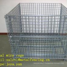 Cage métallique