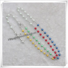 Glass Beads Rosary, Catholic Rosary (IO-cr329)