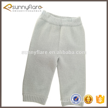 Plain baby kid 100% cashmere pants