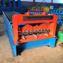 Color steel roof sheet panel profile machine
