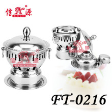 Stainless Steel Belly Casserole for Hot Cooking (FT-0216)