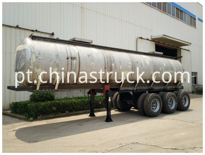 Aqua Ammonia Transport Tanker Trailer
