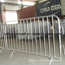 Hot-DIP Galvanized Crowd Control Barriers/Crowd Control Fencing /Pedestrian Barrier (BY-BA1)