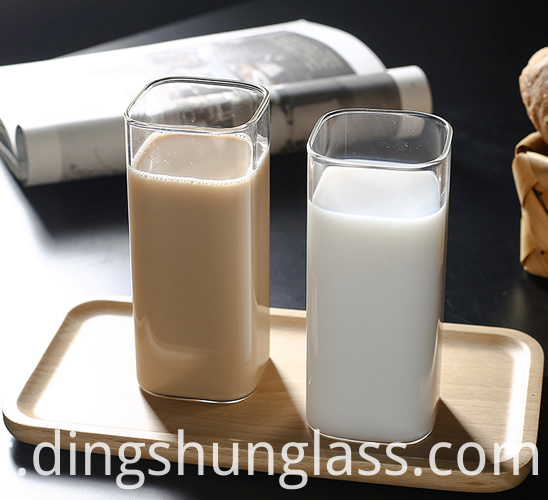 Square Glass Cups
