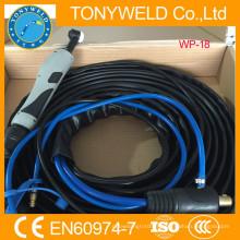 Tig torche argon wp18 soudure à l'arc pièces soudure conseils