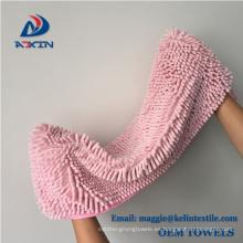 Toalla desechable del animal doméstico de la toalla de perro de la microfibra del diseño de encargo de la fábrica de China