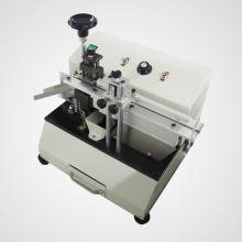 Schneidemaschine für radiale Komponenten