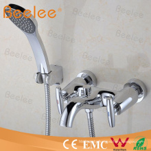 High Quality Double Handle Shower Tap with Hose and Handset