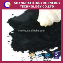 325mesh polvo de madera de carbón activado para blanquear, refinar, desodorante, limpieza