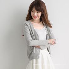 Günstige Preis Pullover tiefem V-Ausschnitt Pullover Frauen für Frauen