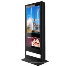 Affichage à cristaux liquides de la publicité extérieure 1080p de 55 pouces