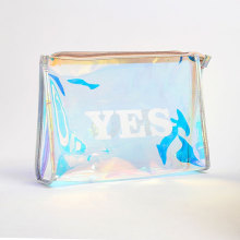 Shiny Beautiful PVC Holographic Cosmetic Makeup Bag
