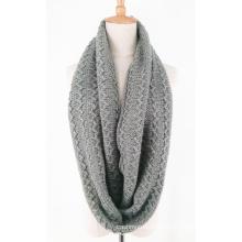 Унисекс шею теплым галантерейных толстый зимний трикотажные петли шарф Снуд (SK154)