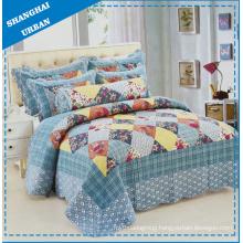 6 Pieces Patchwork Cotton Print Bedding Quilt (set)