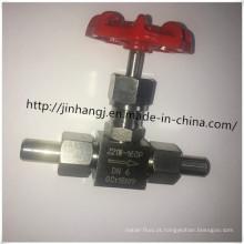 Válvula de isolamento soldada em aço inoxidável