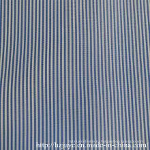 Пряжа окрашенная ткань (синяя полоса)