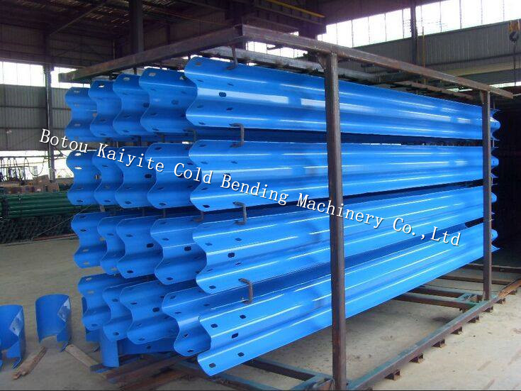 highway road safety guardrail roll forming machine