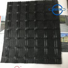 Fiberglas Geogrid Composite With Nonwoven Geotextile