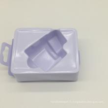 Le plateau d'emballage en plastique de blister en plastique blanc fait sur commande