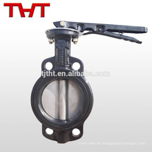 gg25 wafer hebel betrieben gusseisen pn16 schmetterling ventil