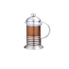 Prensa de café de vidrio para uso doméstico de 600ml
