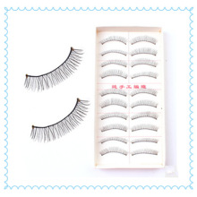 10 Pairs of Reusable Mix Eye Lash, Regular Long False Eyelashes