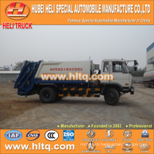 DONGFENG 4x2 10m3 rear loading waste compression truck 170hp hot sale for export