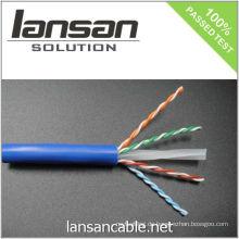 4PR 23AWG UTP CAT 6 Kabel / Bulk Kabel / Datenkabel / Ethernet Kabel / LAN Kabel, 250Mhz / PVC / LSOH