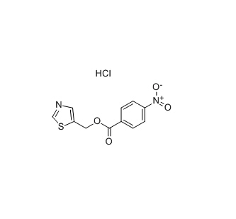((5-Thiazolyl)Methyl)-(4-Nitrophenyl)carbonate Hydrochloride CAS 154212-59-6