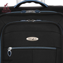 Nylon Polyester Fabric Luggage Black Fabric Luggage