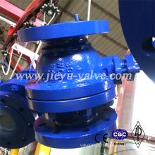Válvula esférica de furo completo (WCB CF8 CF8M CF3 CF3M)